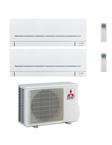 Climatizzatore Condizionatore Mitsubishi MSZ-AP R32 Dual Split Inverter 7000 + 9000 BTU con U.E. MXZ-2F33VF NOVITÁ Classe A++...