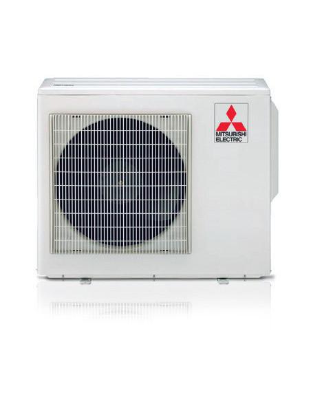 Climatizzatore Condizionatore Mitsubishi MSZ-AP Wifi R32 Quadri Split Inverter 9000 + 9000 + 12000 + 12000 BTU con U.E. MXZ-4...