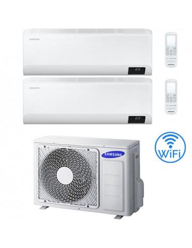 Climatizzatore Condizionatore Samsung WINDFREE AVANT R32 Wifi Dual Split Inverter 9000 + 12000 BTU con U.E. AJ040TXJ2KG/EU NO...