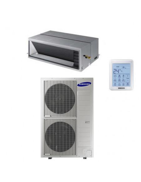 Climatizzatore Condizionatore Inverter monosplit R410A Samsung Canalizzabile ad alta prevalenza 62000 BTU (18Kw) AC180JNHPKH/...