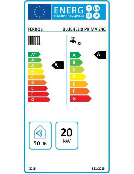 Caldaia Ferroli Bluehelix Prima 24C Murale a condensazione a gas metano o GPL - Climaway