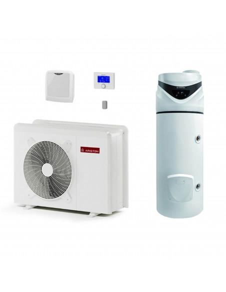 Sistema con pompa di calore riscaldamento - raffrescamento - produzione acqua calda sanitaria